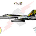 Vfa-25 Fist Of The Fleet Charlie by Clay Greunke