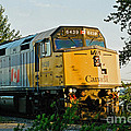 Via Rail Engine by Randy Harris