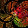 Vibrant Bloom by Amanda Moore