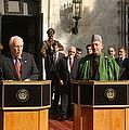 Vice President Richard B. Cheney Left by Everett