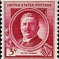 Victor Herbert Postage Stamp by James Hill
