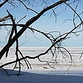 Victoria Beach Winter by Pat Purdy