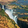 Victoria Falls, Zambia by © Pascal Boegli
