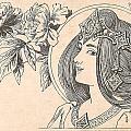 Victorian Lady - 4 by Georgia Fowler