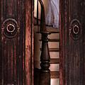 Victorian Lady Descending Stairs by Jill Battaglia