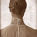 Victorian Lady From Behind by Jill Battaglia