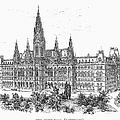 Vienna: City Hall, 1889 by Granger