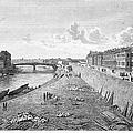 Vienna: Danube, 1821 by Granger