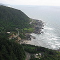 View From Cape Perpetua 2 by Linda Hutchins