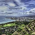 View From Diamond Head by Dan McManus