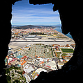 View From Inside Of The Gibraltar Rock by Artur Bogacki