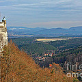 View From Koenigstein Fortress Germany by Christine Till