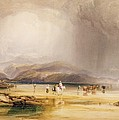 View From Snowdon From Sands Of Traeth Mawe by Anthony Vandyke Copley