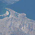 View From Space Of San Diego by Stocktrek Images