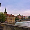 View From The Charles Bridge Revisited by Madeline Ellis