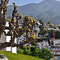 View From The Parador Nerja by Mary Machare