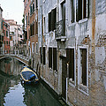View Of A Canal In A Quiet Residential by Taylor S. Kennedy