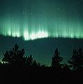 View Of An Aurora Borealis Display by Pekka Parviainen
