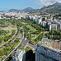 View Of Aterro Do Flamengo by Ruy Barbosa Pinto