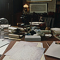 View Of Darwin's Desk At Down House by Volker Steger