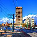 View Of Downtown Buffalo From The Tracks by Michael Frank Jr