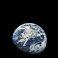 View Of Earth Taken From The Aollo 8 by Stocktrek Images