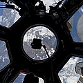 View Of Earth Through The Cupola by Stocktrek Images