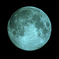 View Of Full Moon by John Sanford