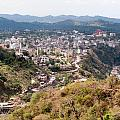 View Of Katra Township While On The Pilgrimage To The Vaishno Devi Shrine In Kashmir In India by Ashish Agarwal