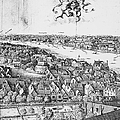 View Of London, 1647 by Granger