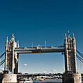 View Of London Bridge From The Thames by Jorge Fajl