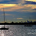 View Of Manhattan From City Island Bronx Ny by Dale   Ford