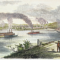 View Of Pittsburgh, 1853 by Granger