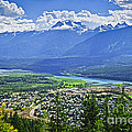 View Of Revelstoke In British Columbia by Elena Elisseeva