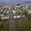 View Of Reykjavik by Sven Brogren