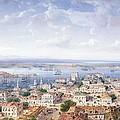 View Of Sebastopol  by Carlo Bossoli