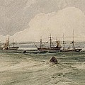 View Of Sheerness by Francois Louis Thomas Francia