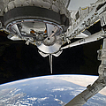 View Of Space Shuttle Discovery by Stocktrek Images