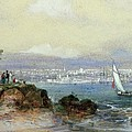 View Of Sydney Harbour by Conrad Martens