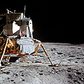 View Of The Apollo 14 Lunar Module by Stocktrek Images