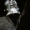 View Of The Apollo 17 Command by Stocktrek Images