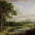 View Of The City Of Edinburgh by Alexander Nasmyth