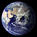 View Of The Earth From Space Showing by Stocktrek Images