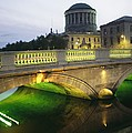 View Of The Four Courts And The Liffey by Richard Nowitz