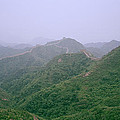 View Of The Great Wall Of China by Shaun Higson