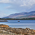 View Of The Isle Of Arran by Chris Thaxter