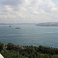 View Of The Marmara Sea - Istanbul by Christiane Schulze Art And Photography