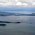 View Of The San Juan Islands From Mt. Constitution  by Tanya  Searcy