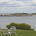 View Of Tinkers Island by Ruth H Curtis