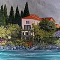 View Of Varenna by Linda Scott
